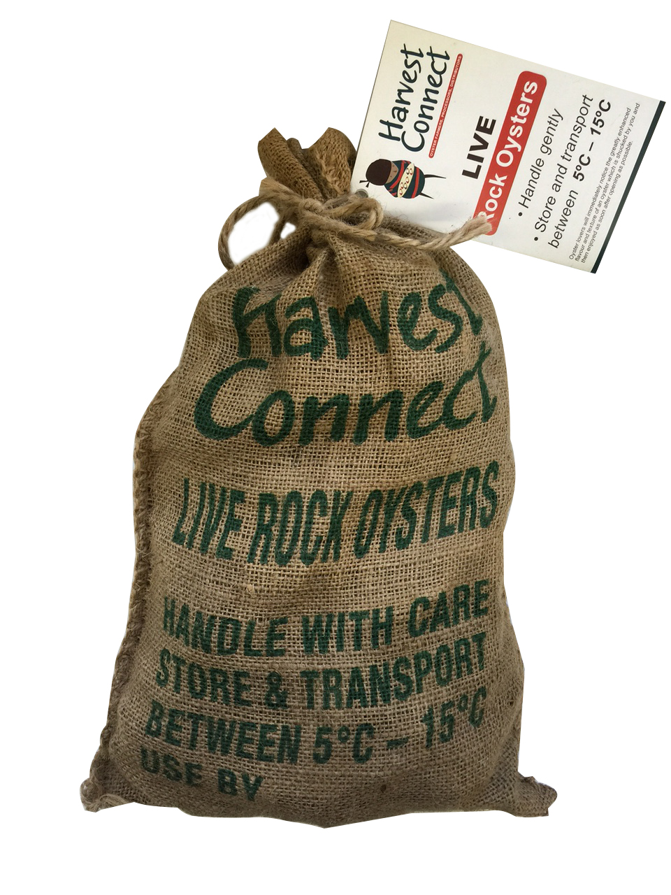 Live Rock Oysters – Half Sack
